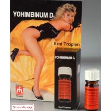 Yohimbinum D4 (экстракт йохимбе в каплях), 5 мл
